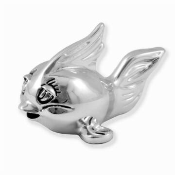 Ezüst állatfigura - ezüsttel laminált hal