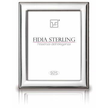Sterling ezüst sima fényképkeret (10x15cm)