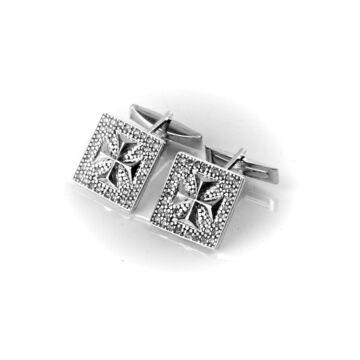 Ezüst dísztárgy  - Sterling ezüst mandzsettagomb