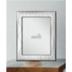 Ezüst fényképkeret - hullámvonalas mintával (10x15 cm)