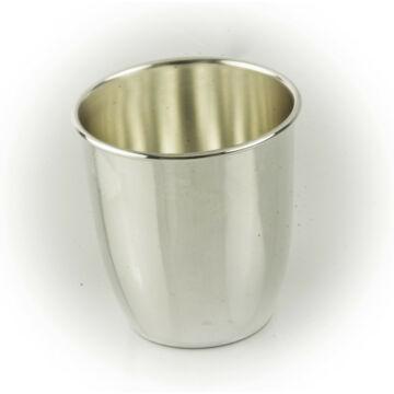 Ezüst dísztárgy - Sterling ezüst keresztelő pohár