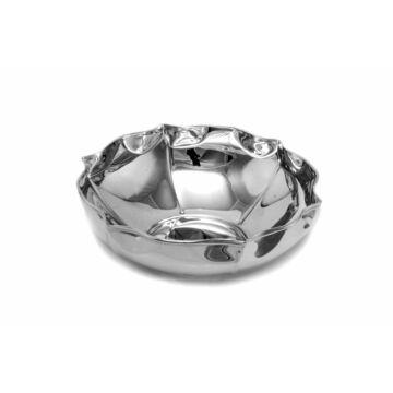 Ezüst dísztárgy  - Sterling ezüst kis kerek kínáló
