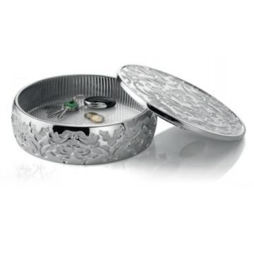 Ezüst dísztárgy - ezüst tál fedéllel (23cm)
