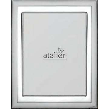Ezüst fényképkeret - keretes (10x15 cm)