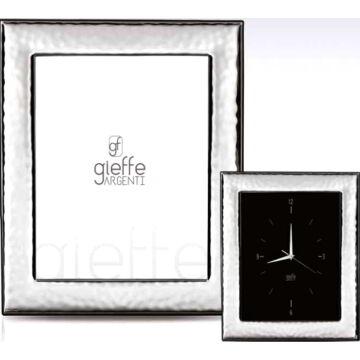 Ezüst fényképkeret - hullámos felülettel (10x15cm)
