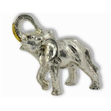 Ezüst állatfigura - Elefánt - afrikai