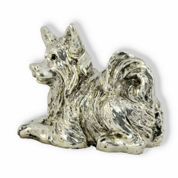 Ezüst állatfigura - Kutya - Csivava