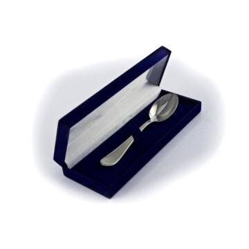 Ezüst dísztárgy - Sterling ezüst kanál keresztelőre vagy babaszületéskor