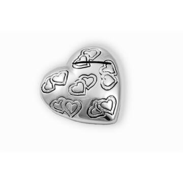 Ezüst-dísztárgy - ezüst asztali ültetőkártya-tartó