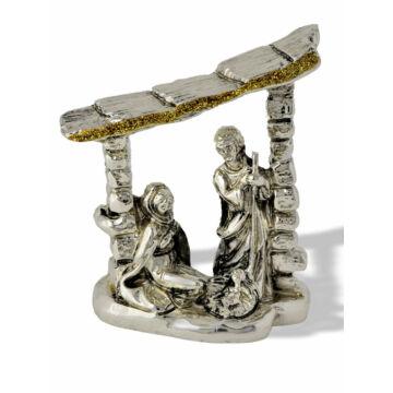 Ezüst dísztárgy - Betlehemi család
