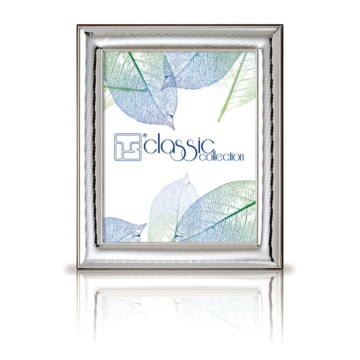 Ezüst fényképkeret - domborított (9x13cm)