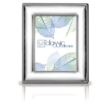 Ezüst fényképkeret - domborított (6x9cm)