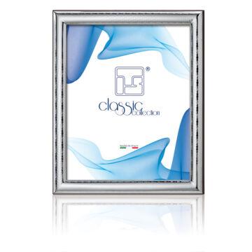 Ezüst fényképkeret - domborított, vékony (9x13cm)