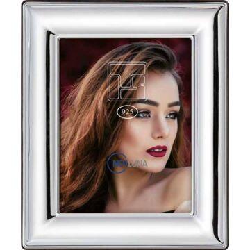Sterling ezüst sima, fényes fényképkeret (13x18cm)