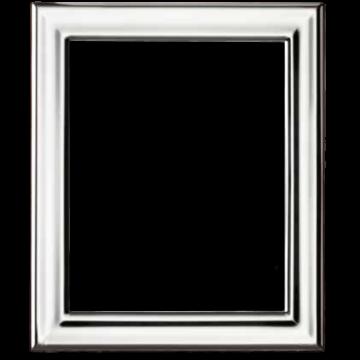 Ezüst fényképkeret - sima, fényes (15x20cm)