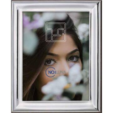 Ezüst fényképkeret - sima, fényes (10x15 cm)