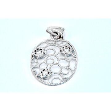Ezüst ékszer - Sterling ezüst filigrán medál