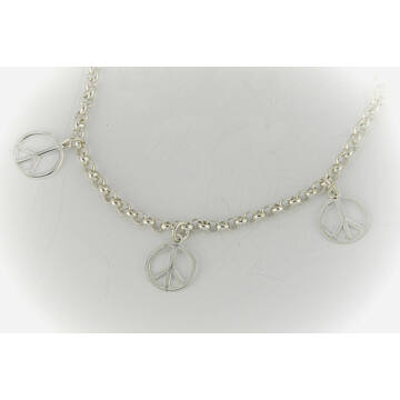 Ezüst ékszerek  - Sterling ezüst karkötő