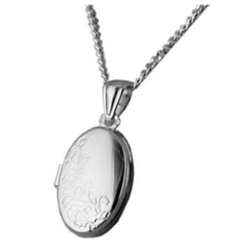 Ezüst ékszer  - Sterling ezüst nyitható medál lánccal