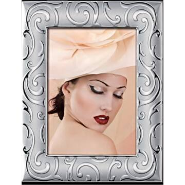 Ezüst fényképkeret - széles kerettel (10x15cm)