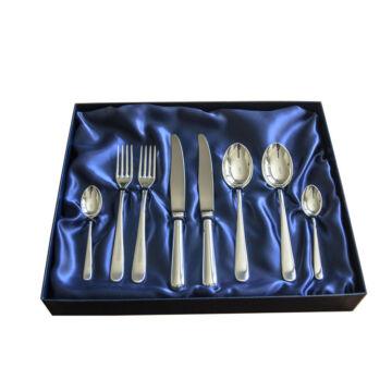 Sterling ezüst evőeszköz, svéd stílusú, 2 személyes, 6 darabos