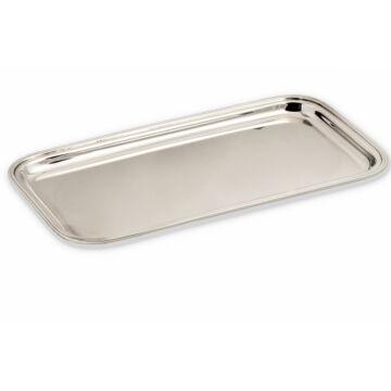 Ezüst dísztárgy - sterling ezüst négyszögletes kis tálca