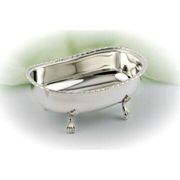 Ezüst tárgy - Sterling ezüst ovális cukortartó