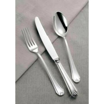 Sterling ezüst evőeszköz, modern empire stílusú