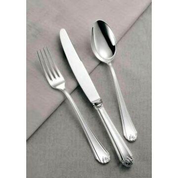 Sterling ezüst evőeszköz, modern empire stílusú, 6 személyes