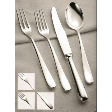 Sterling ezüst evőeszköz, svéd stílusú, 6 személyes