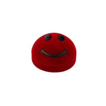 Smile díszdoboz, piros
